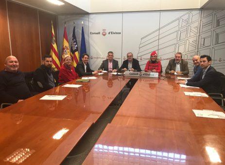 El Comité Ejecutivo de la Cámara de Comercio se reúne con el Presidente del Consell Insular para solicitar su apoyo